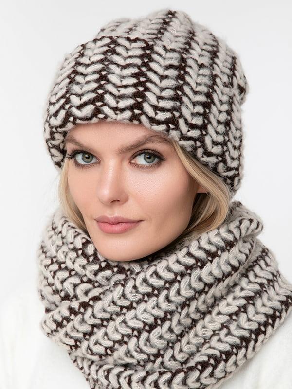 Комплект: шапка та шарф | 5287009