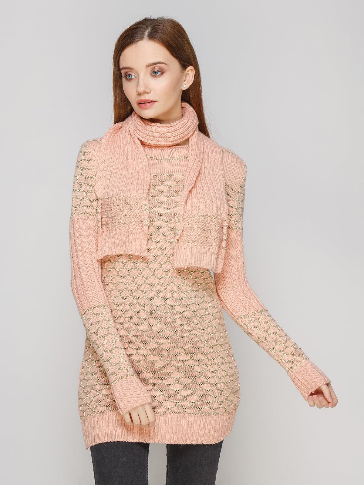 Комплект: туніка та шарф | 5285687