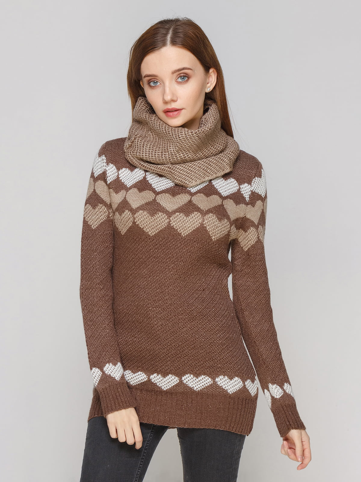Комплект: туніка та шарф | 5285676