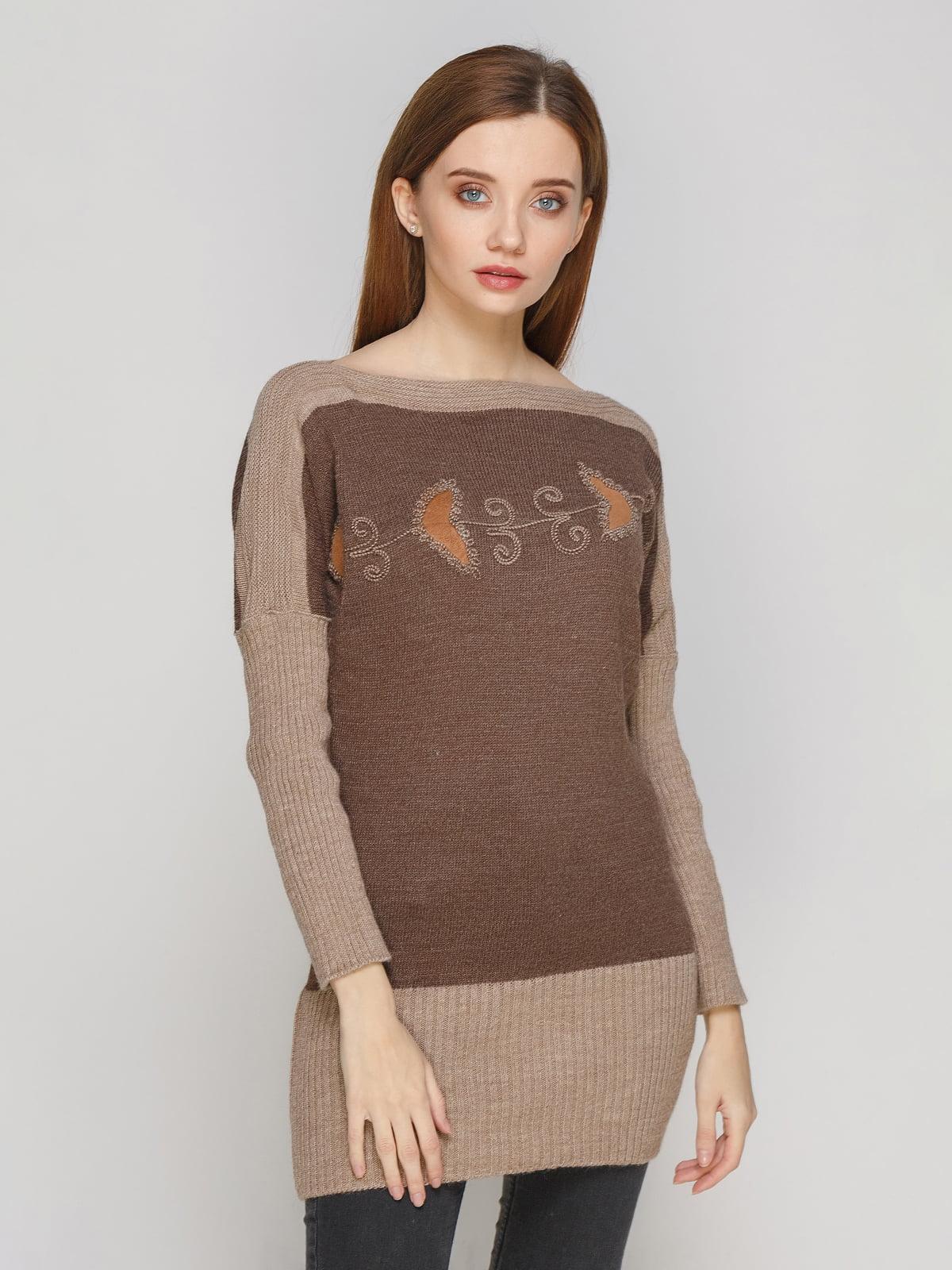 Туніка коричнева   5285711