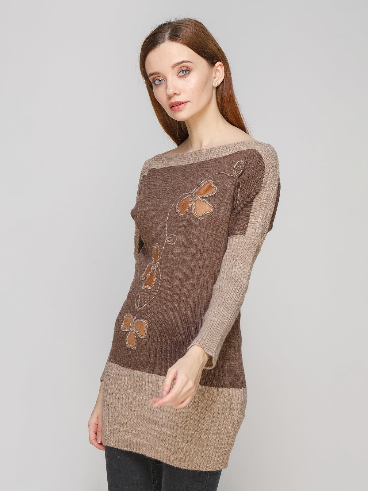 Туника коричневая   5285703