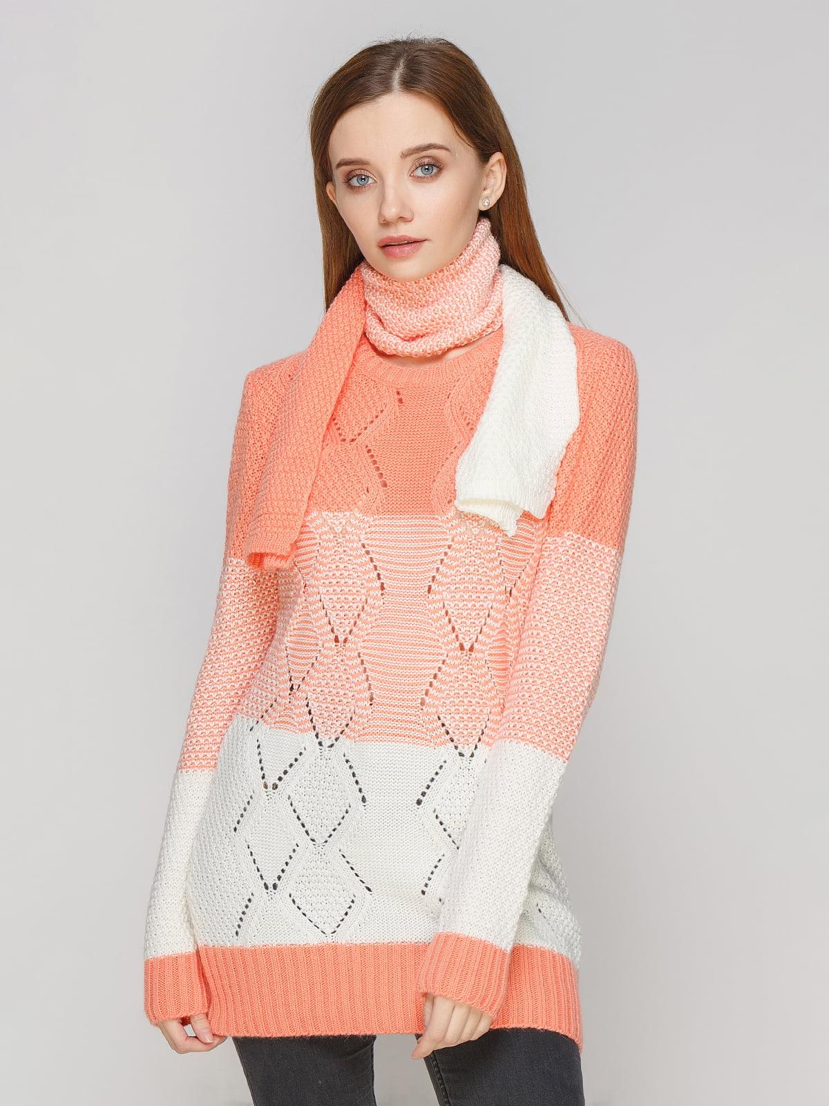 Комплект: туніка та шарф | 5285668