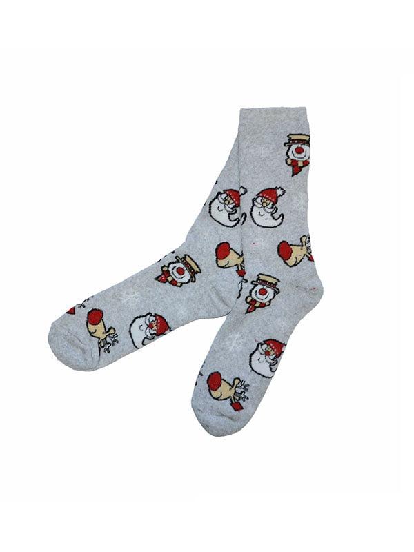 Шкарпетки сірі | 5288335