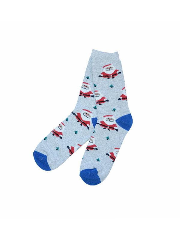 Носки голубые   5288338