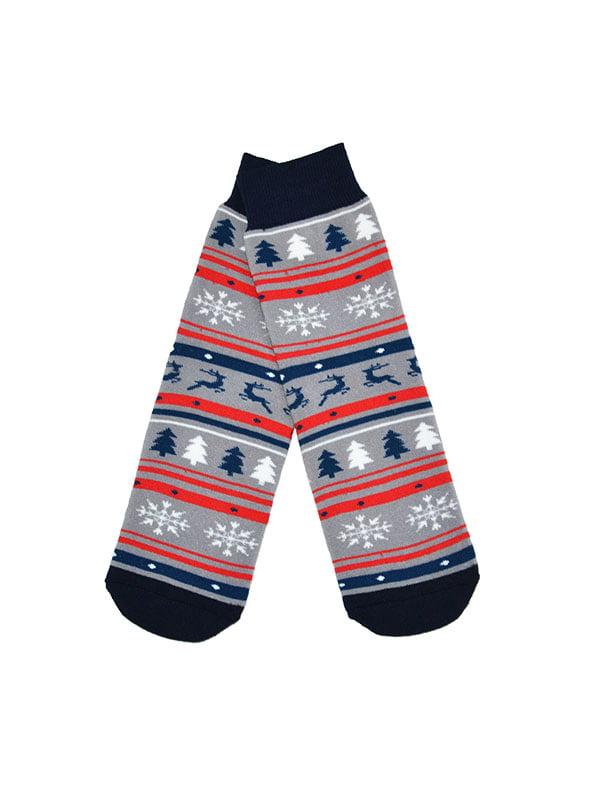 Шкарпетки комбінованого забарвлення   5288341