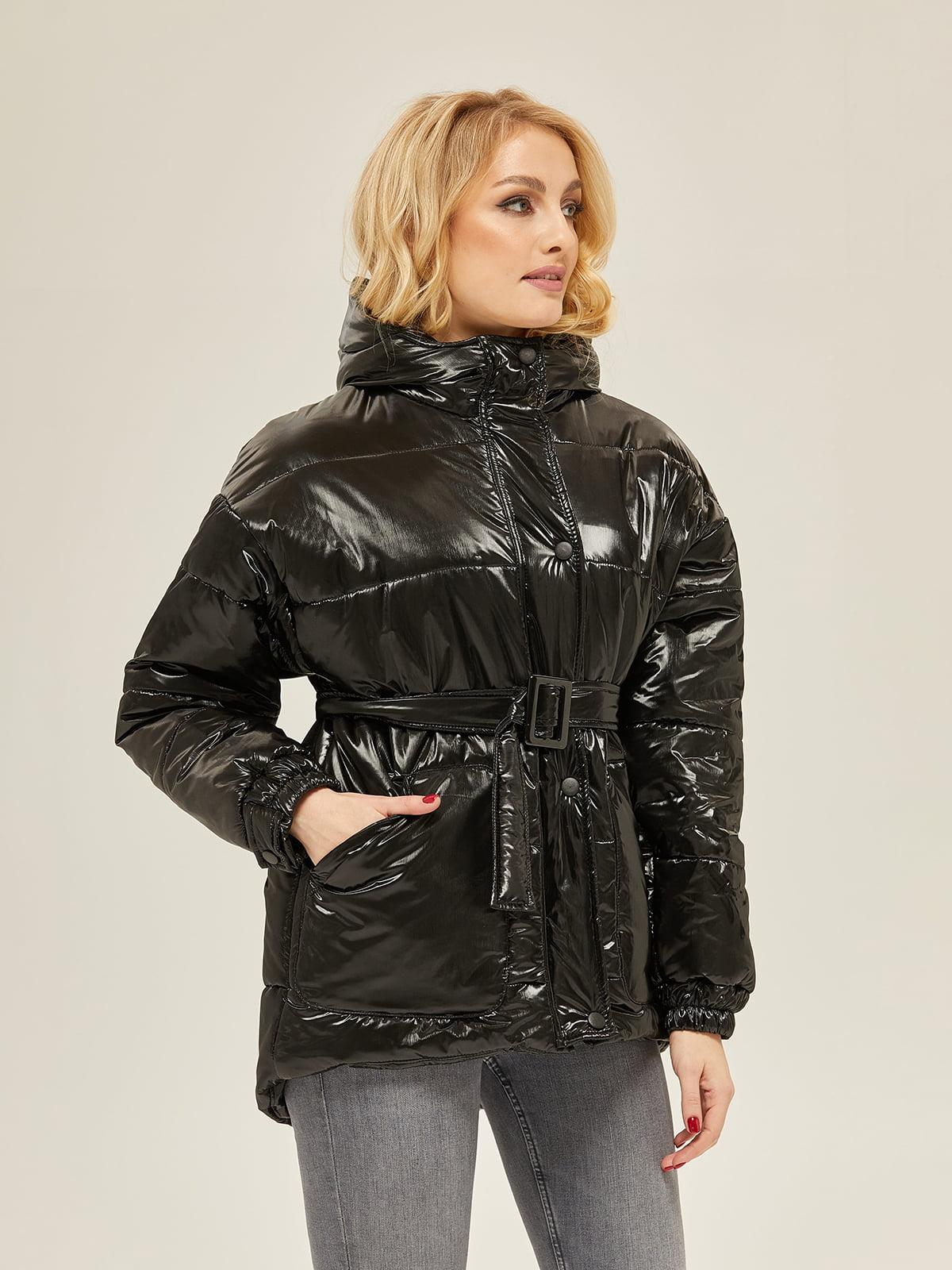 Куртка чорна | 5289712
