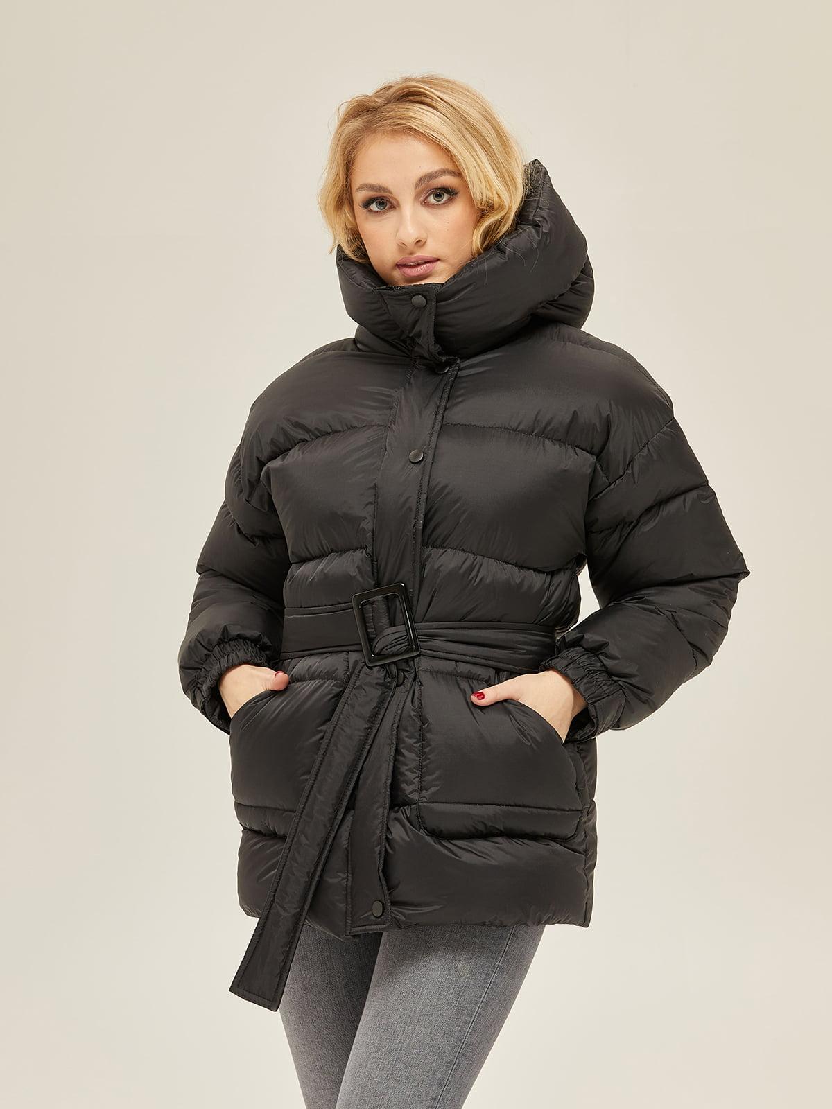 Куртка чорна | 5289719