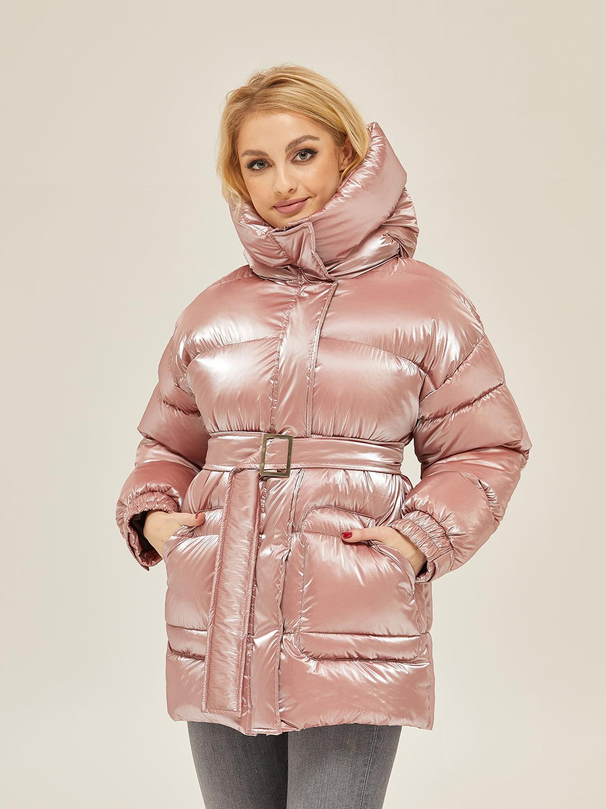 Куртка рожева | 5289720