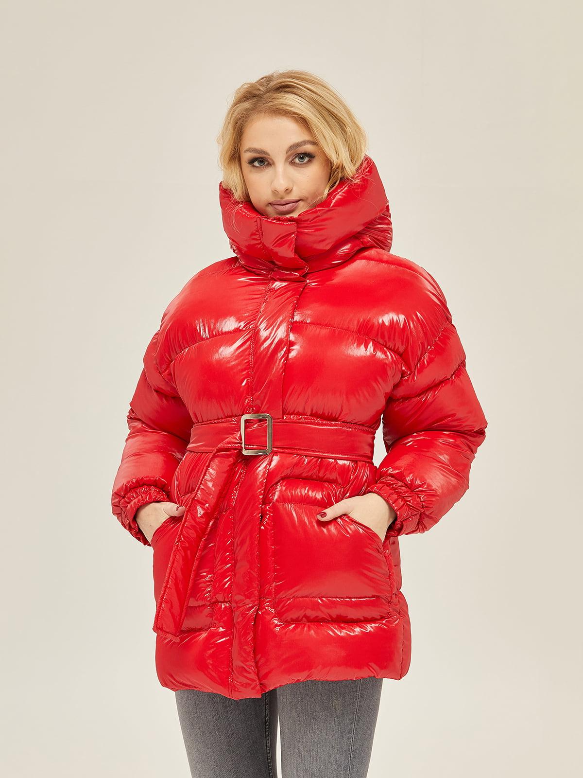 Куртка червона | 5289722