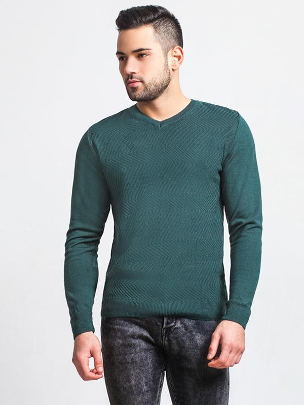 Пуловер зеленый | 5292822