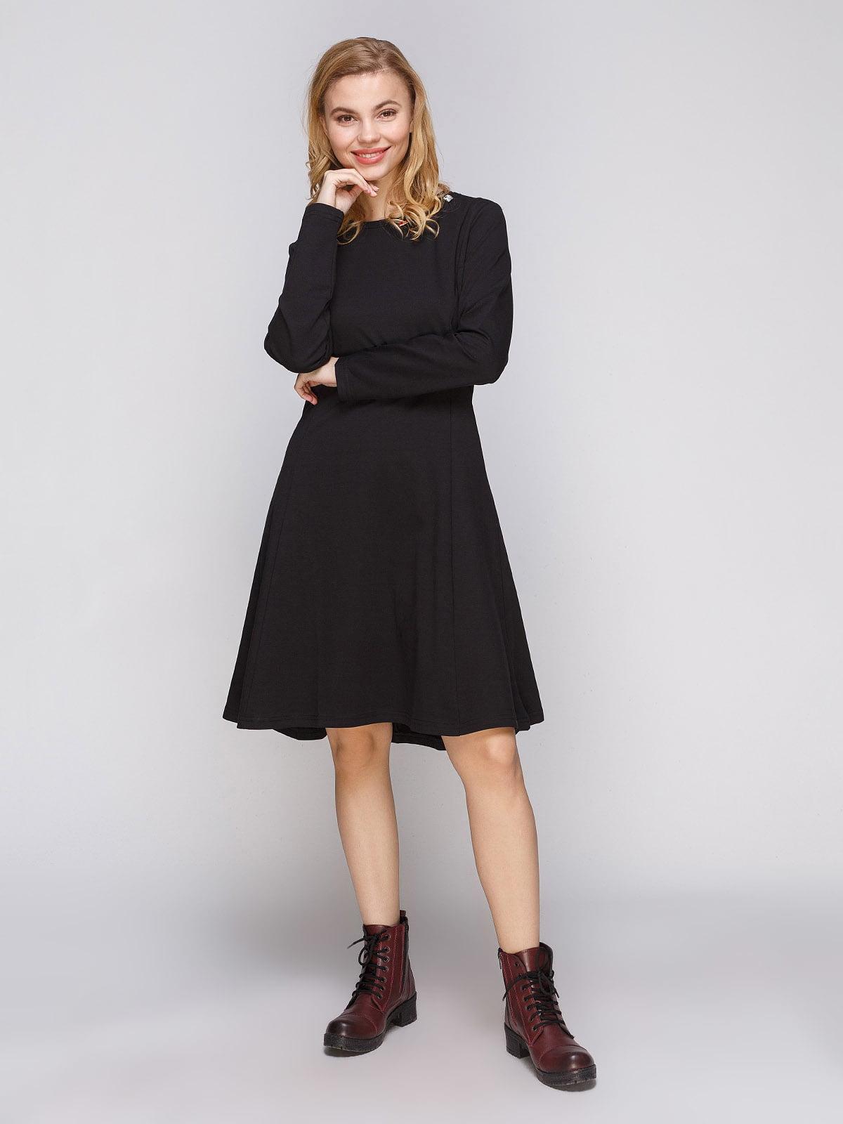 Платье черное | 5289610
