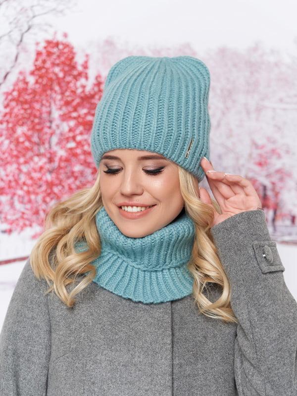 Комплект: шапка и шарф-хомут | 5294589