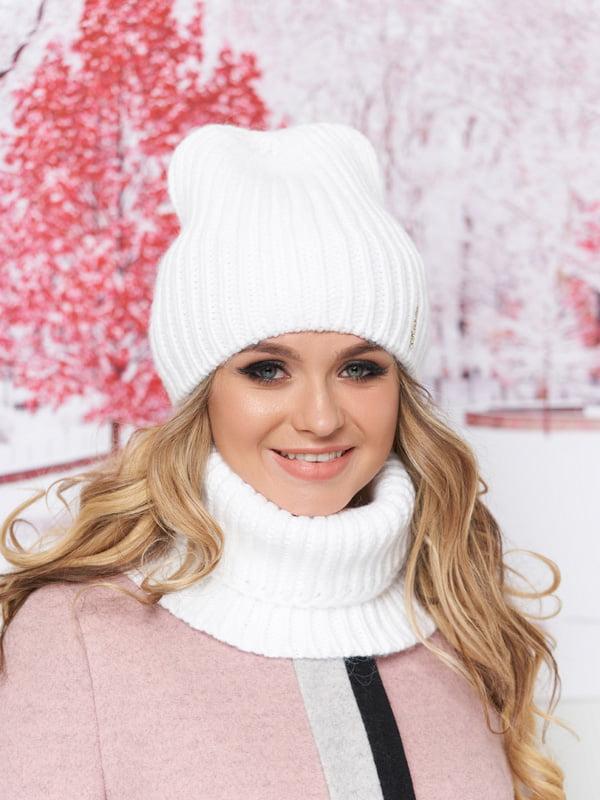 Комплект: шапка и шарф-хомут | 5294590