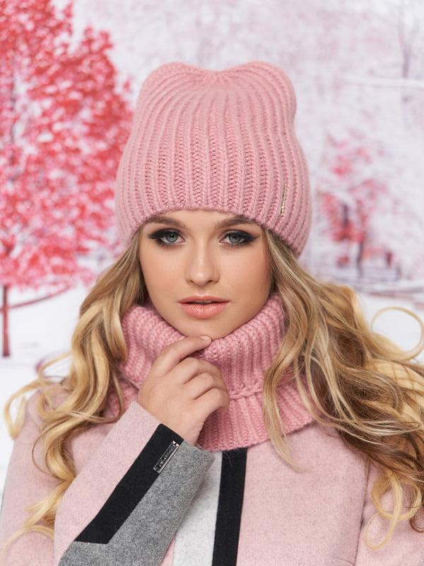 Комплект: шапка и шарф-хомут | 5294592