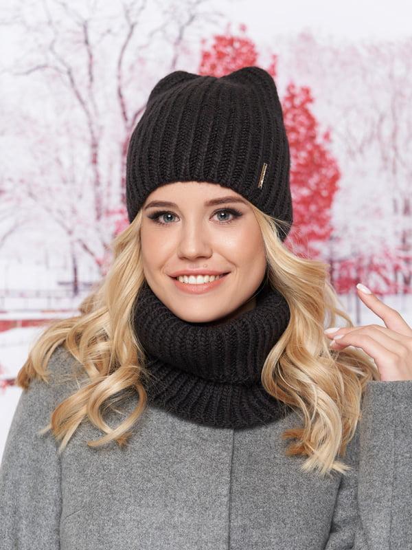 Комплект: шапка и шарф-хомут | 5294596