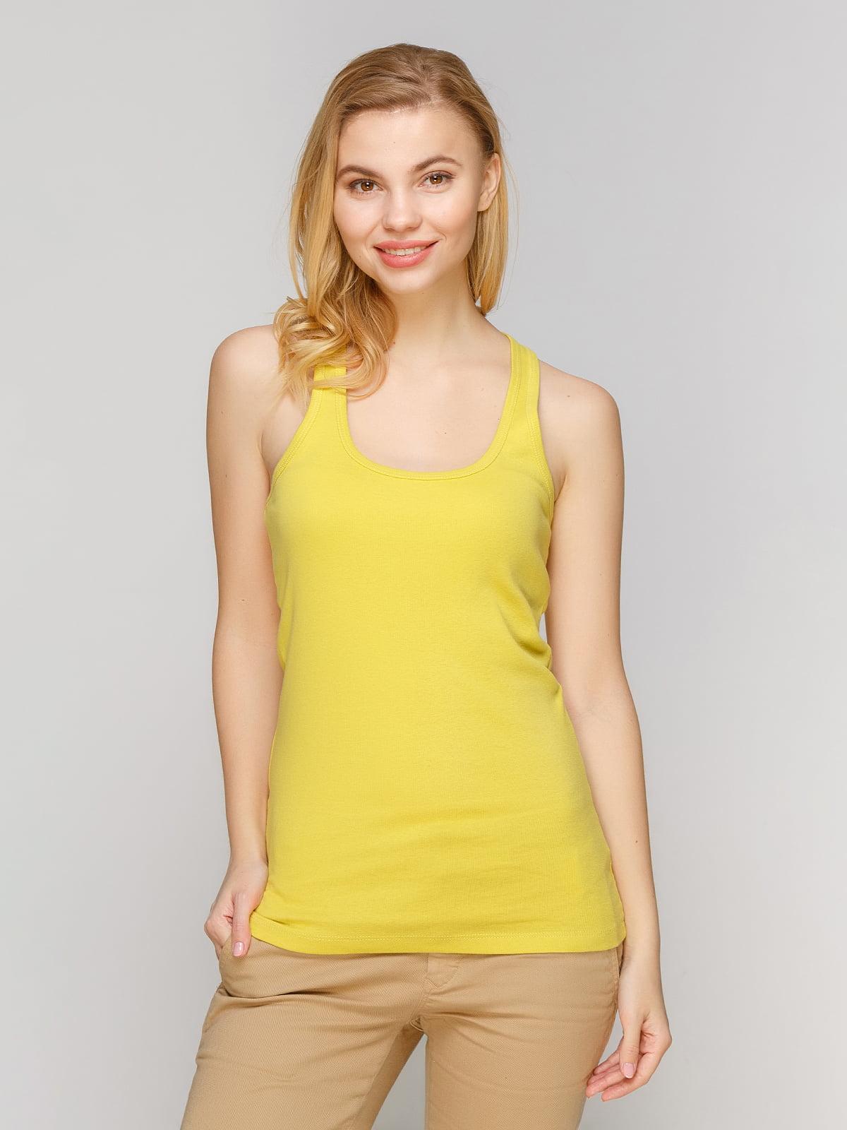 Майка лимонного кольору | 4647242