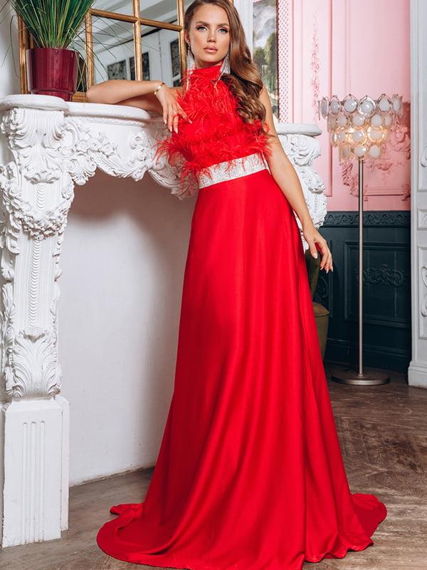 Платье красное   5281770