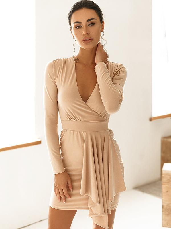 Платье бежевое | 5291080