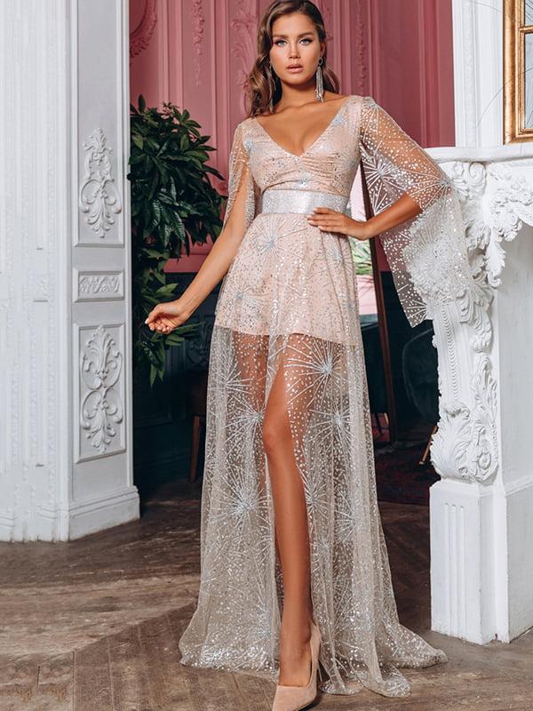 Платье бежевое   5291102