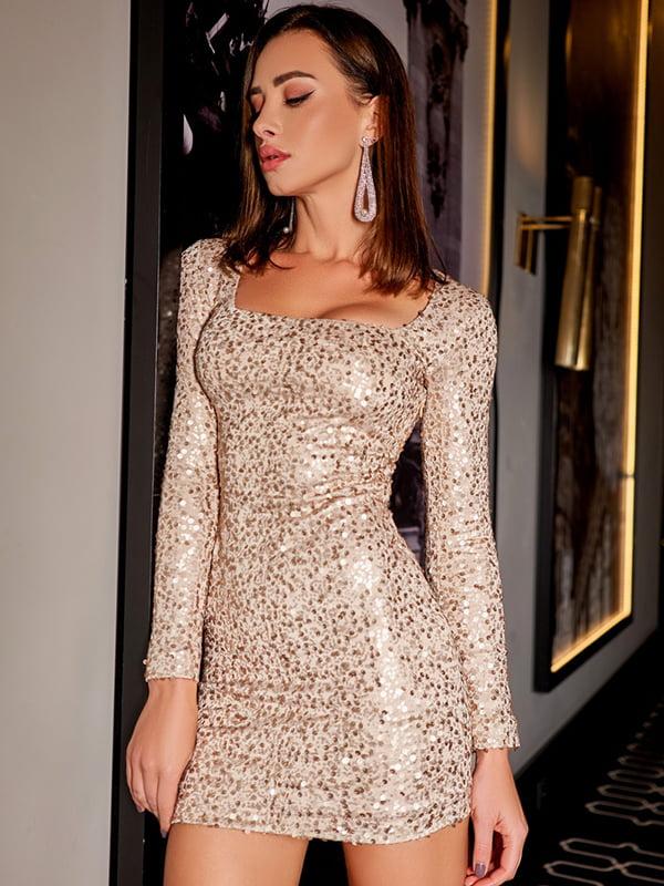 Платье золотистое | 5291114