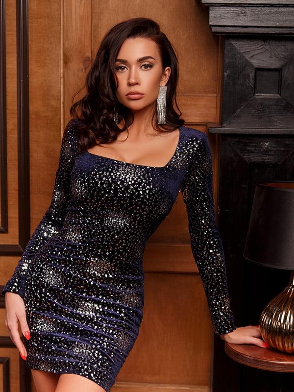 Платье синее | 5291125