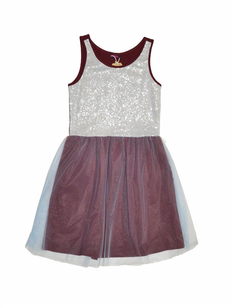 Платье комбинированной расцветки | 5295656