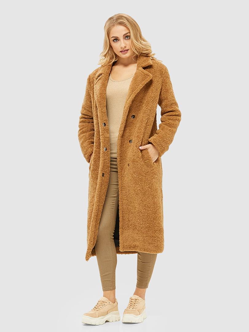 Пальто кольору кемел | 5296057