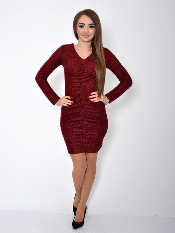 Платье бордовое | 5295997