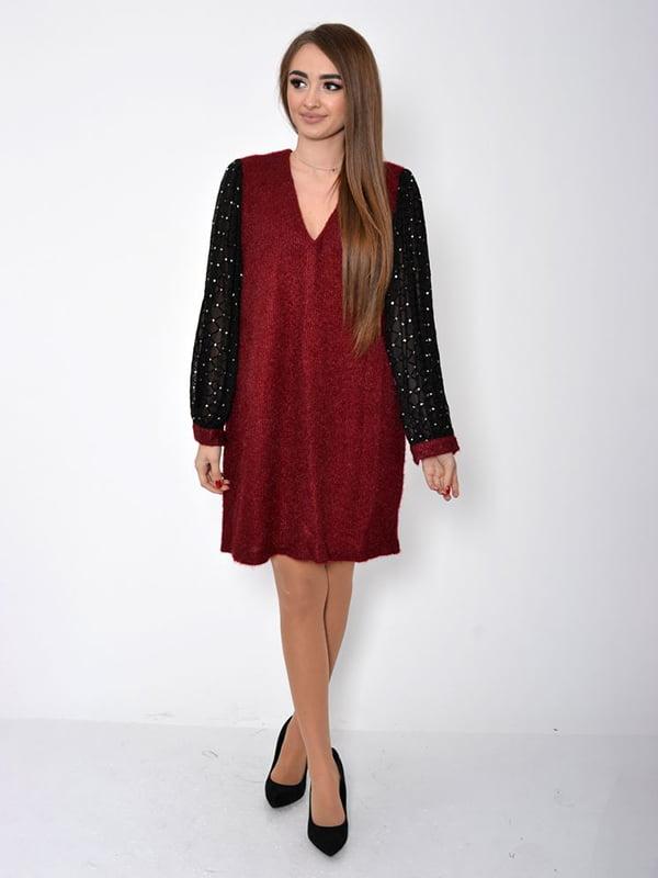 Платье бордовое | 5296009