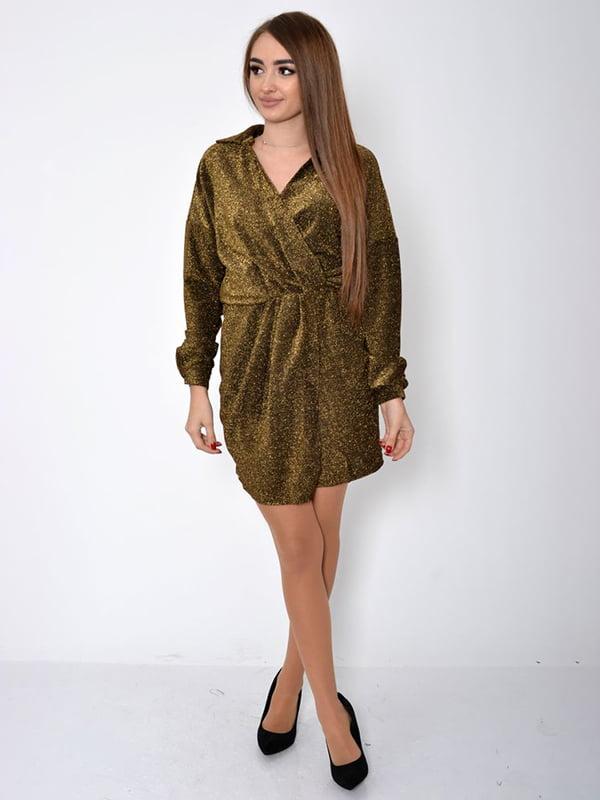 Платье золотистое | 5296014