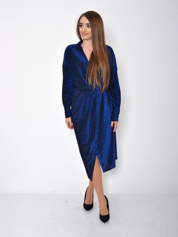 Платье синее   5296020