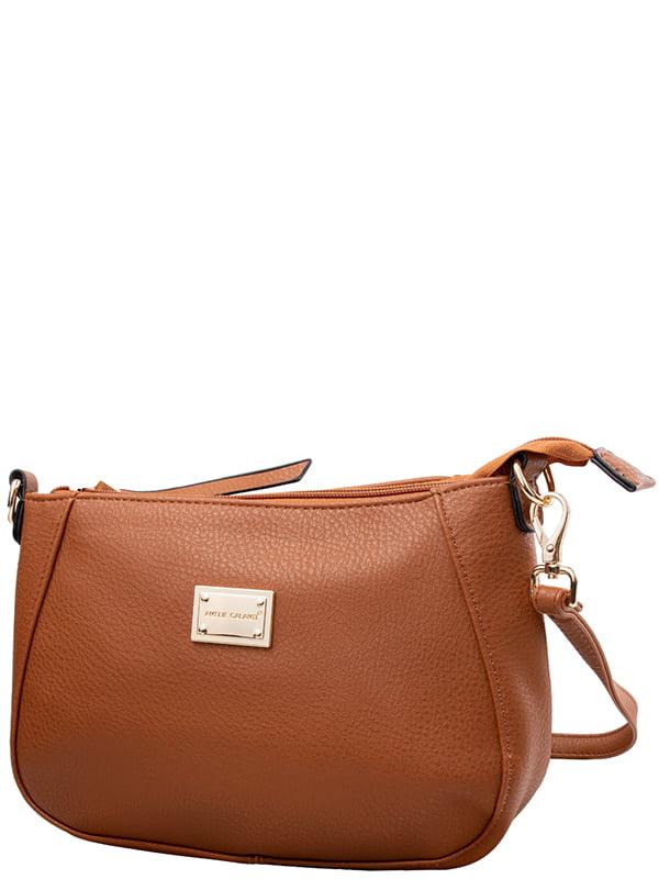 Клатч коричневий | 5298577