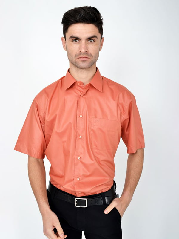 Сорочка кольору цегли   5287745