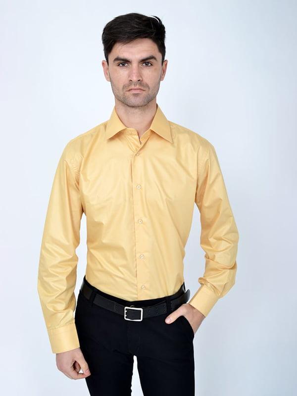 Рубашка песочного цвета | 5287757