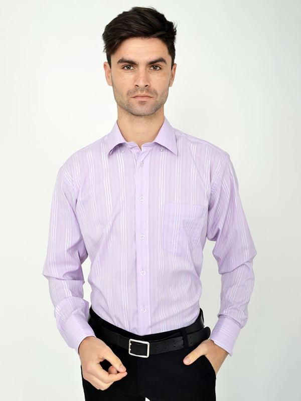 Рубашка фиолетовая | 5287825