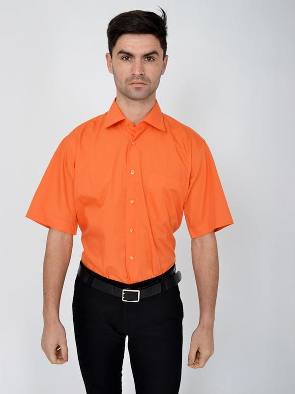 Рубашка оранжевая | 5287836