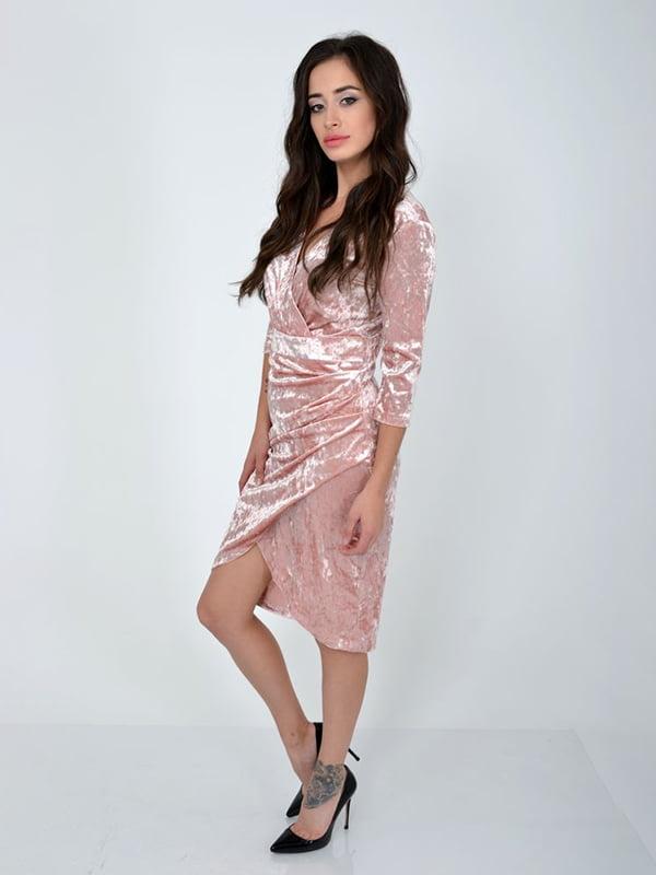 Платье цвета пудры | 5299183