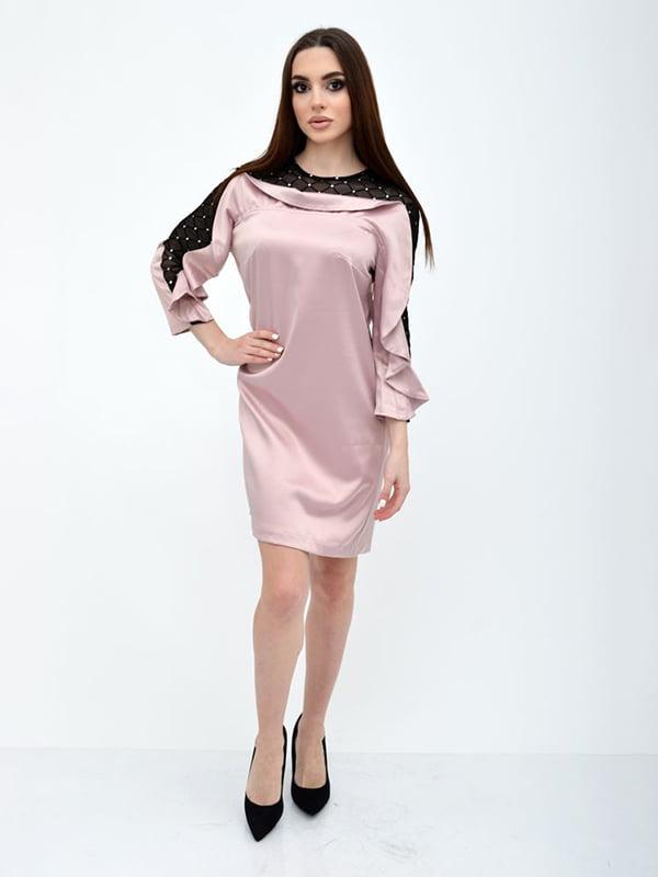 Платье розовое   5299211