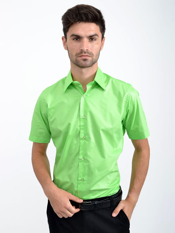 Рубашка зеленая | 5299253