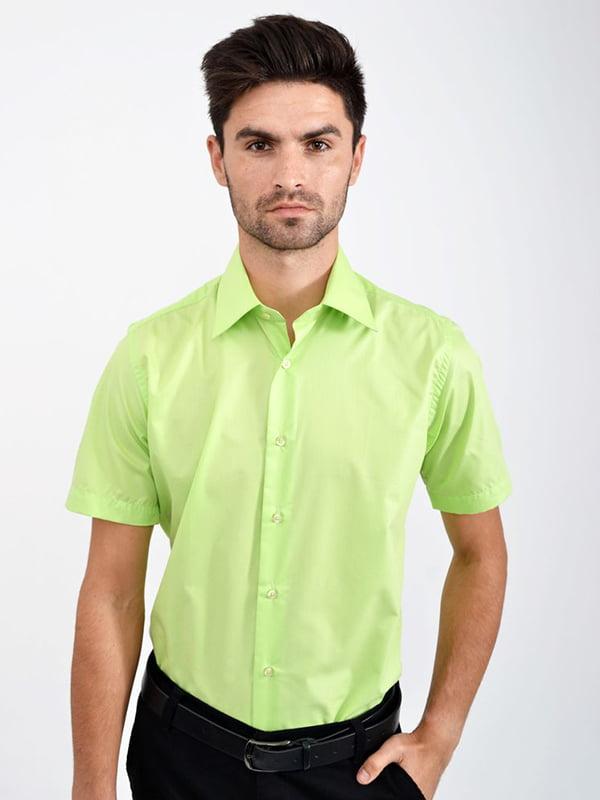 Рубашка салатового цвета | 5299257