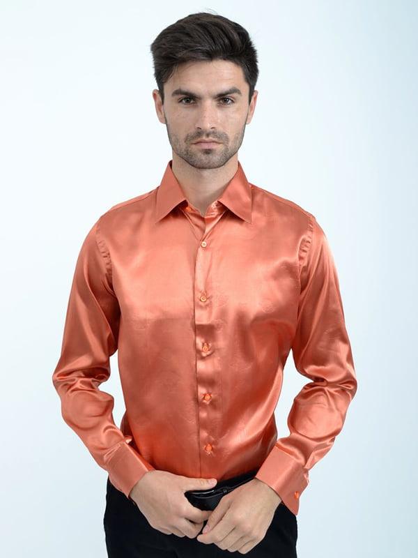 Рубашка цвета меди | 5299267
