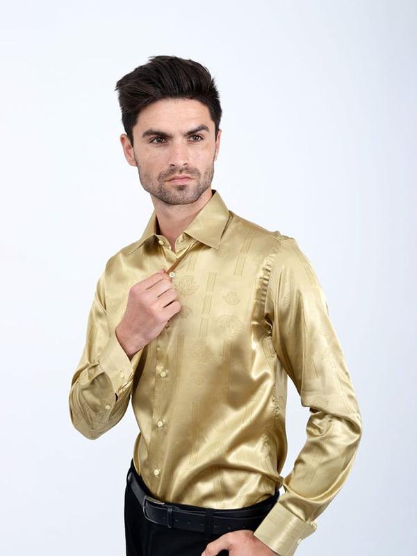 Рубашка золотистого цвета | 5299275