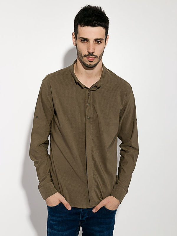 Рубашка цвета хаки | 5299307