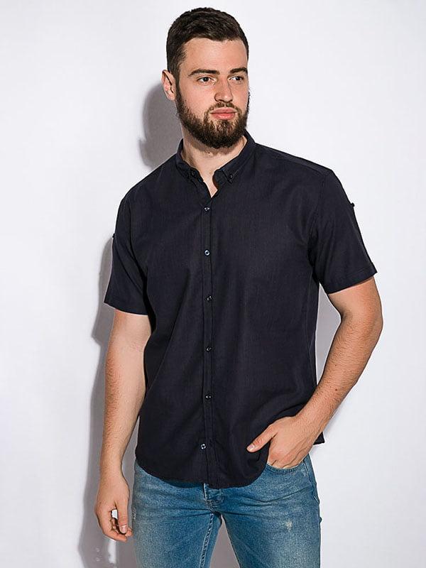 Рубашка темно-синяя | 5299350