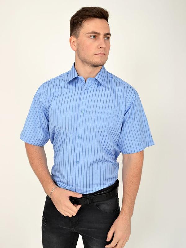 Рубашка голубая | 5299354