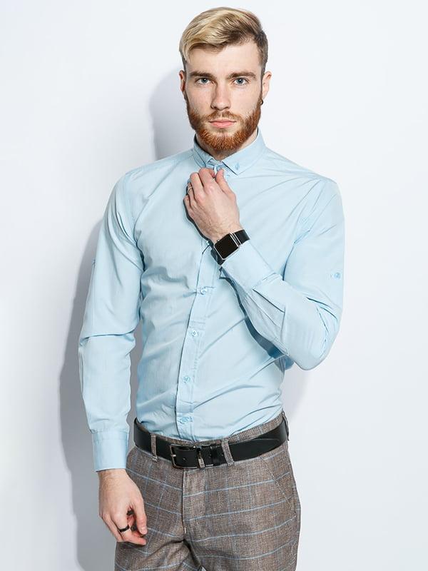 Рубашка голубая | 5299363