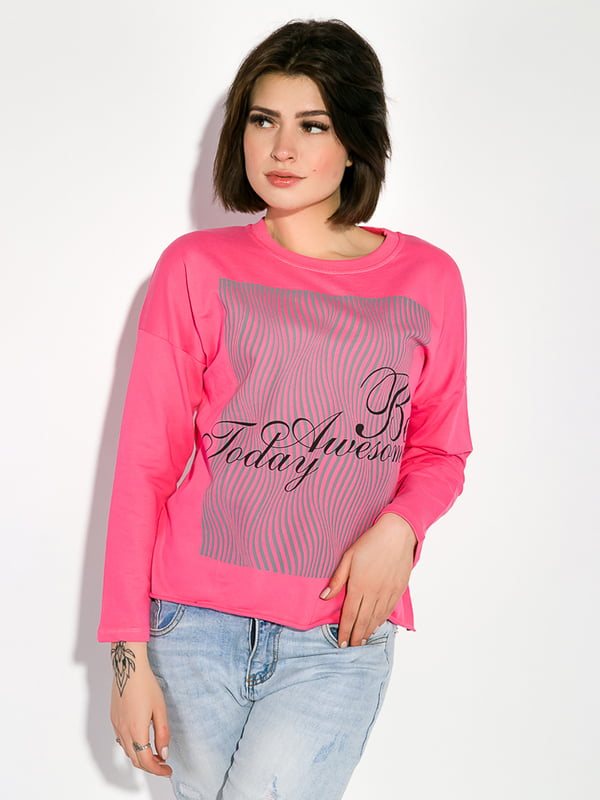 Свитшот розовый   5299446