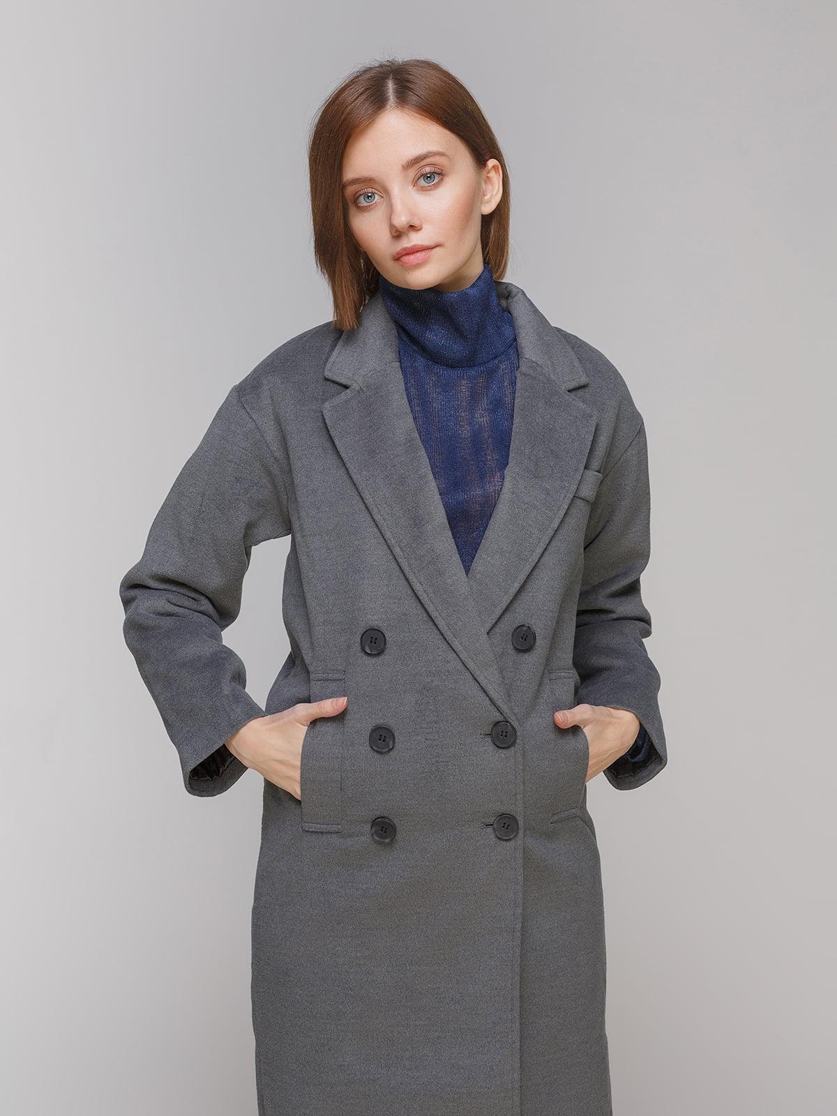 Пальто сіре | 3576323