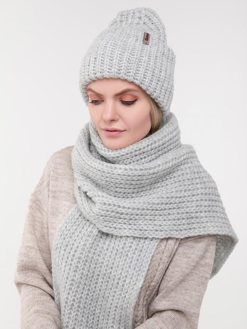 Комплект: шапка та шарф | 5302256