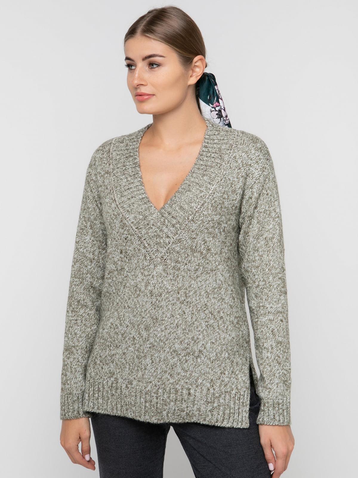 Пуловер сірий | 5303840